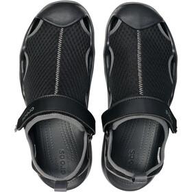Crocs Swiftwater Mesh Deck Sandały Mężczyźni, black